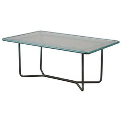 Walter Lamb for Brown Jordan Bronze Patio Coffee Table
