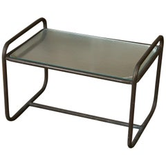 Walter Lamb for Brown Jordan Bronze Patio Side Table