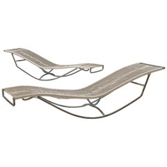 Walter Lamb for Brown Jordan 'Waikiki' Rocking Chaise Longue C-4720