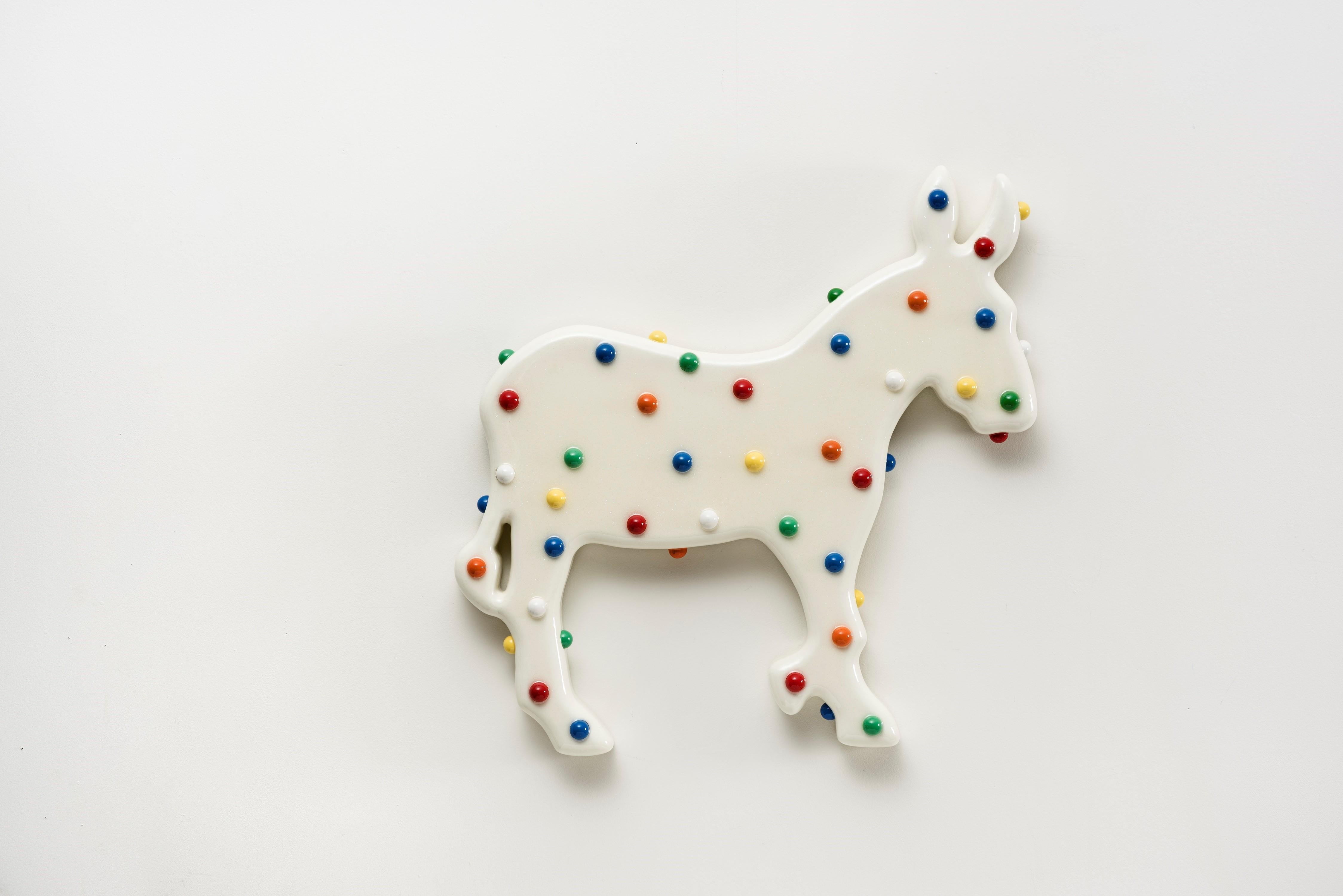 Animal Cracker (White Donkey)