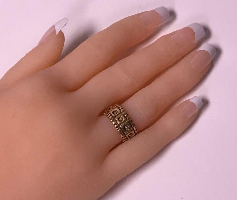 Walter Schluep 18 Karat Ring, circa 1960 In Good Condition For Sale In Toronto, ON
