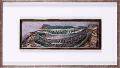 British, early 20th Century oil painting of mackerel by the great Walter Sickert