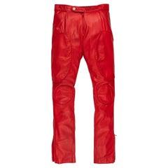 "Walter Van Beirendonck SS2009 ""Skin King"" Leather Pants"