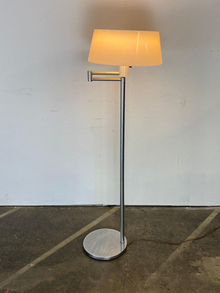 Mid-Century Modern Walter Von Nessen Floor Lamp For Sale