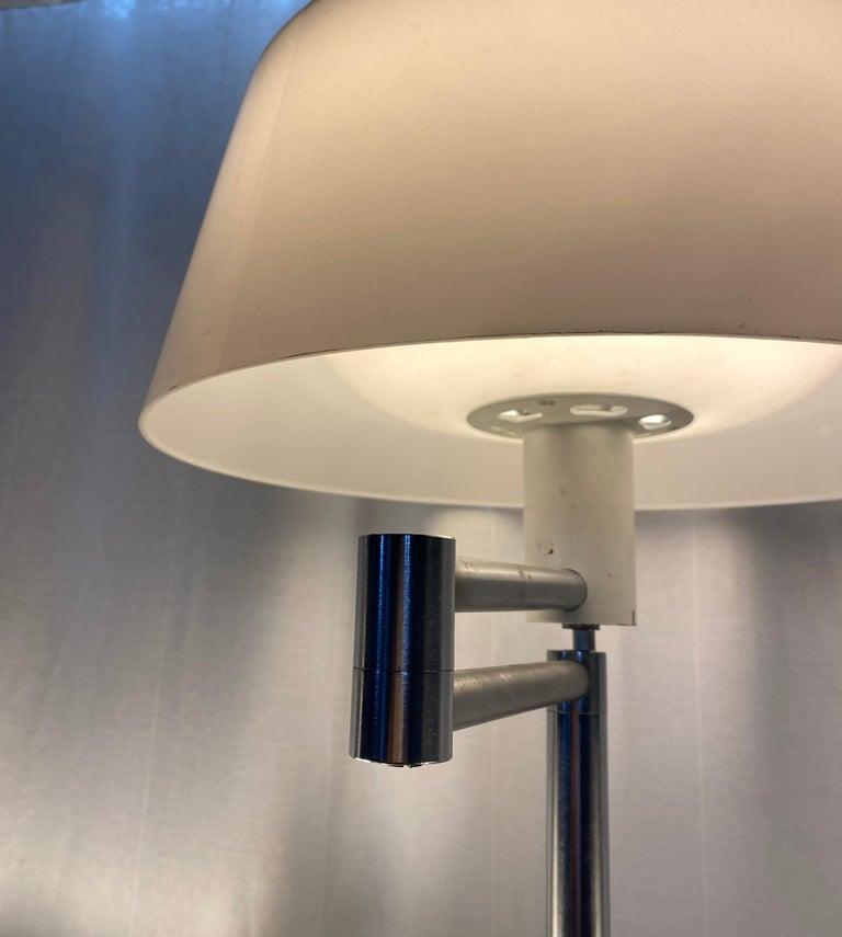Metal Walter Von Nessen Floor Lamp For Sale