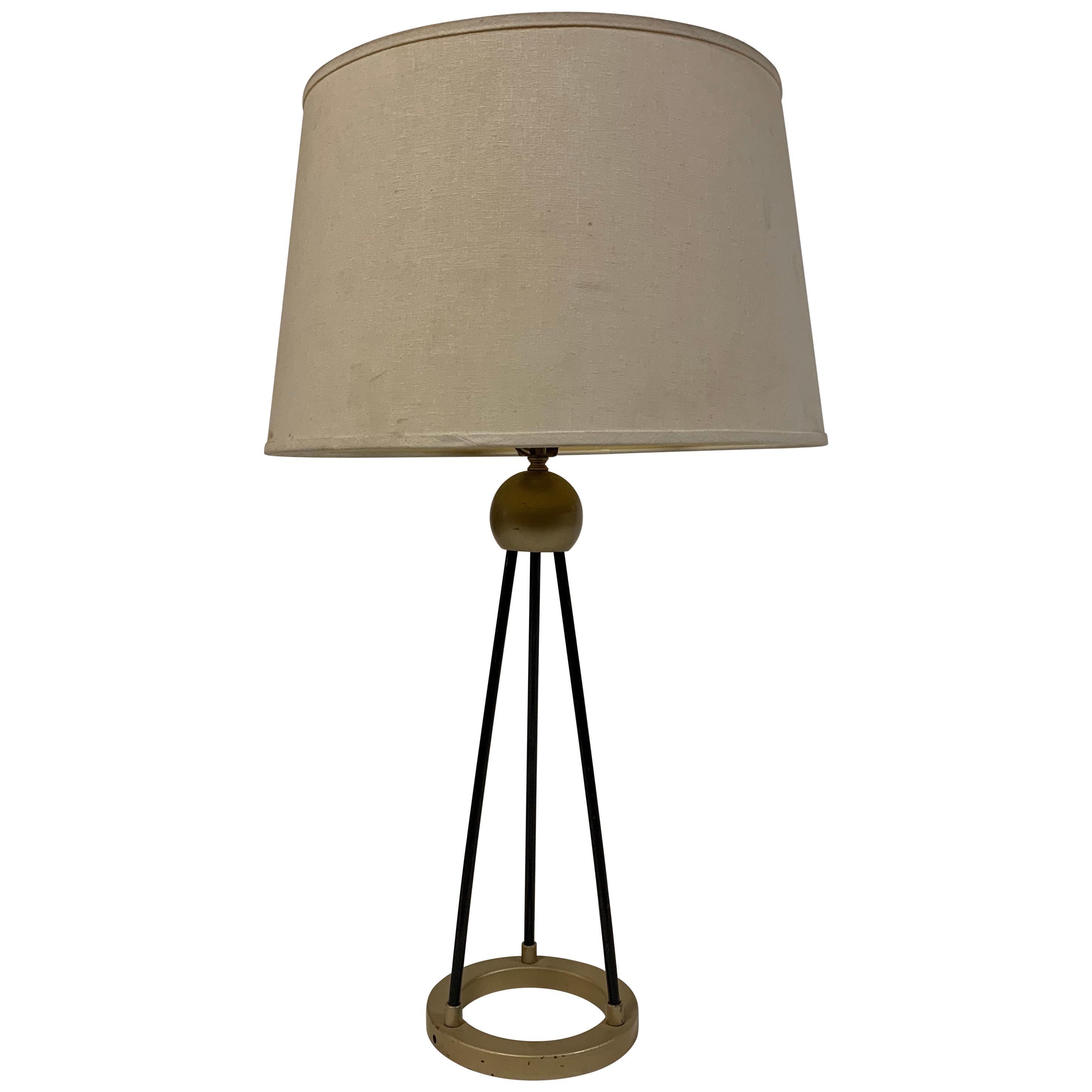 Walter Von Nessen style Machine Age Table Lamp