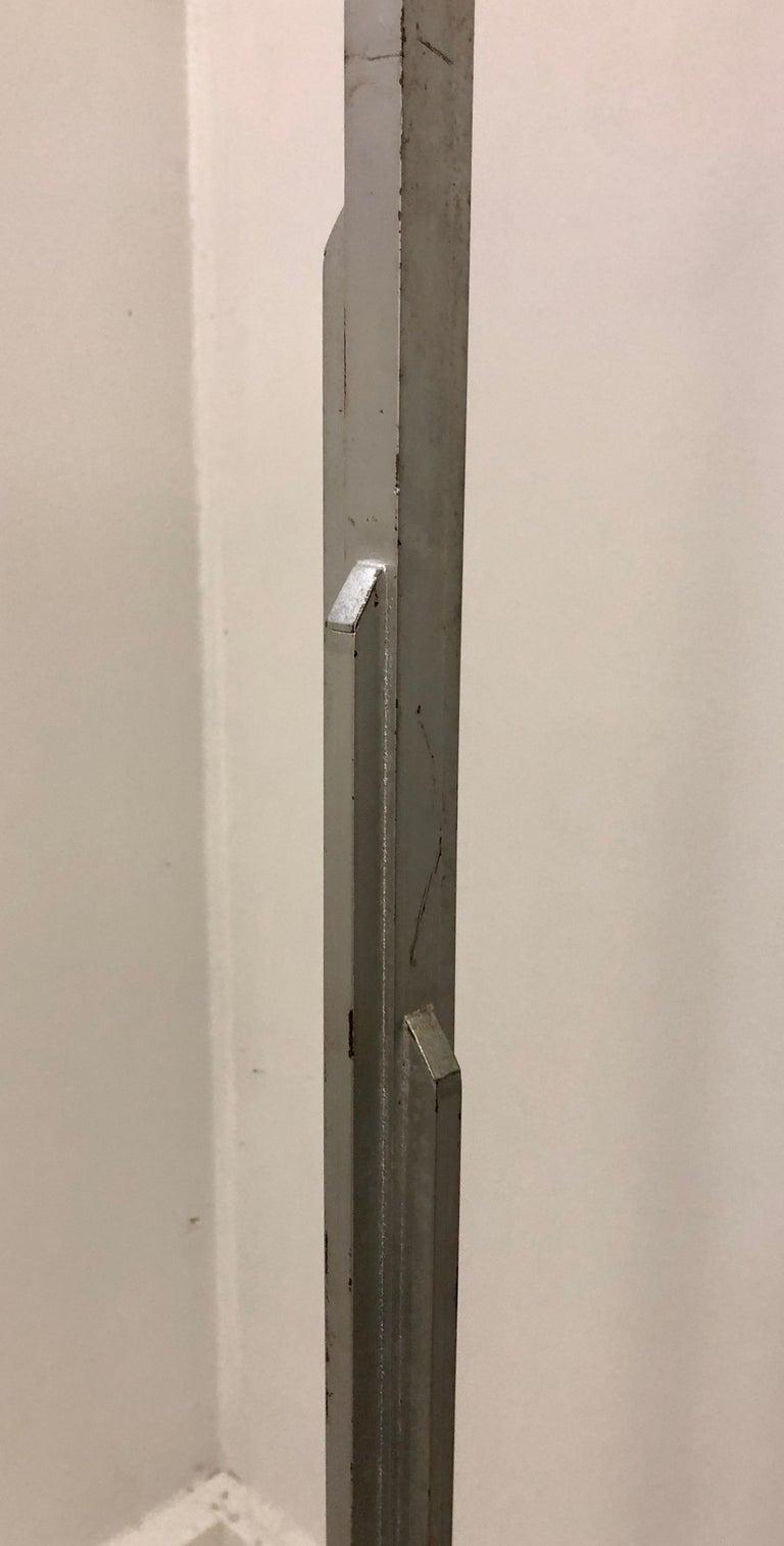 Walter Von Nesson 'Skyscraper' Floor Lamp In Good Condition For Sale In Hudson, NY