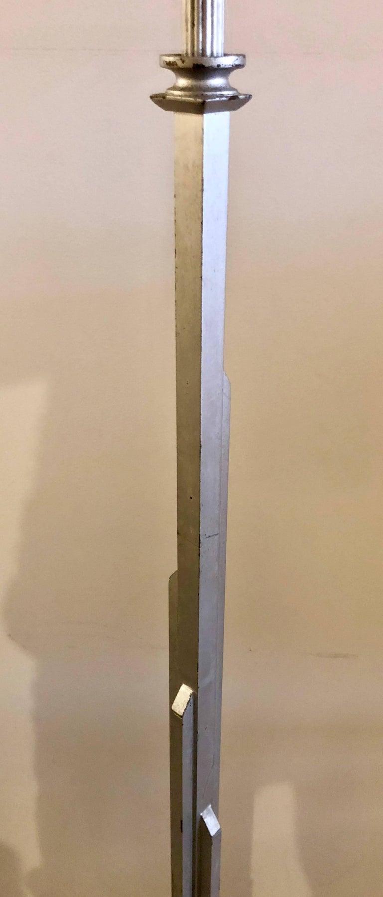Walter Von Nesson 'Skyscraper' Floor Lamp For Sale 1
