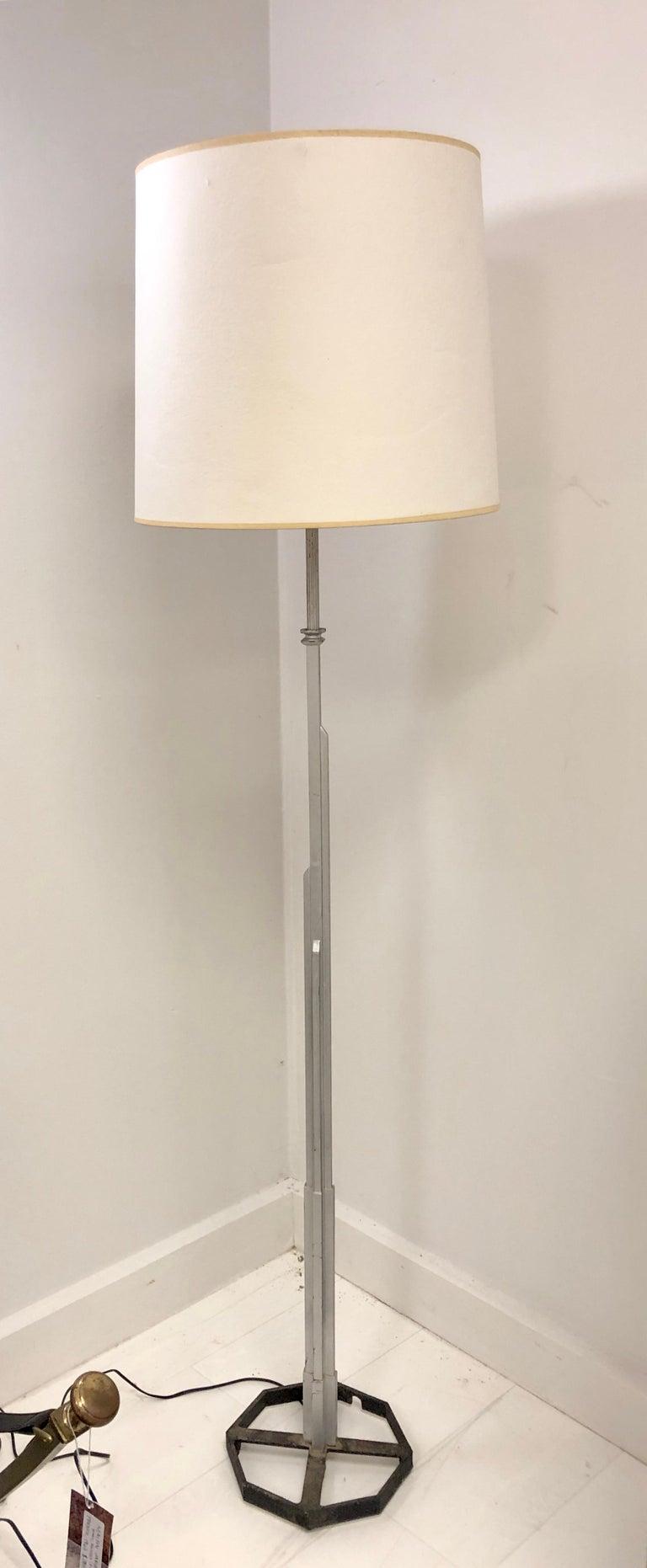 Walter Von Nesson 'Skyscraper' Floor Lamp For Sale 2