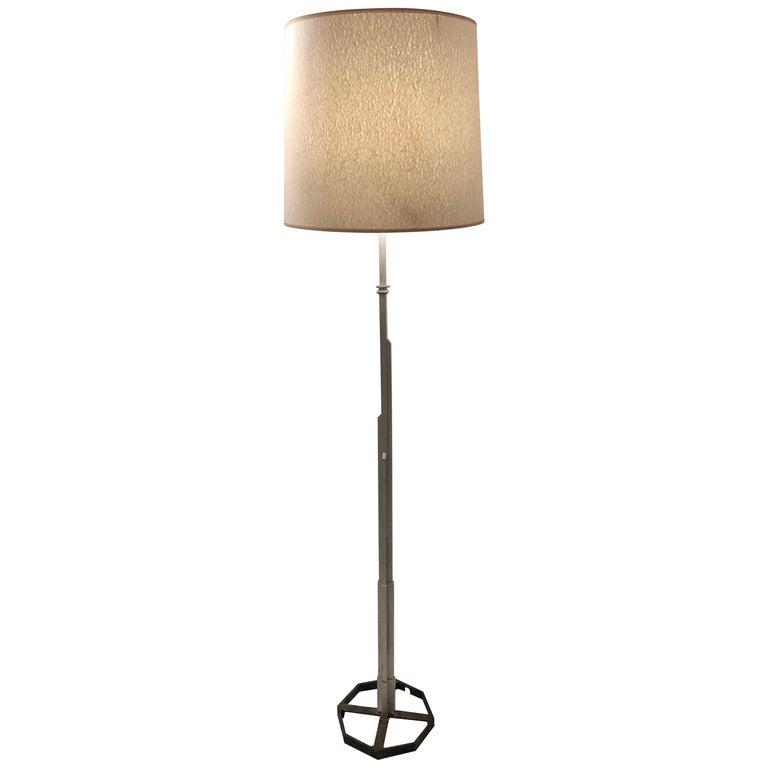 Walter Von Nesson 'Skyscraper' Floor Lamp For Sale