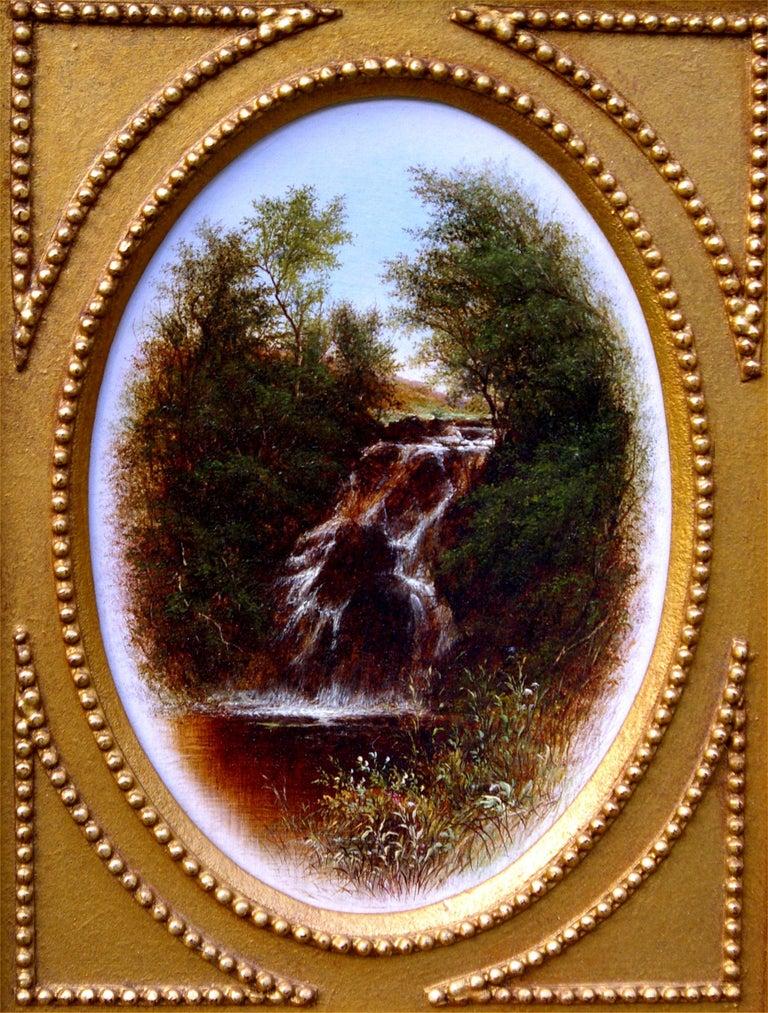 Serene Views (Pair) - Painting by Walter Williams