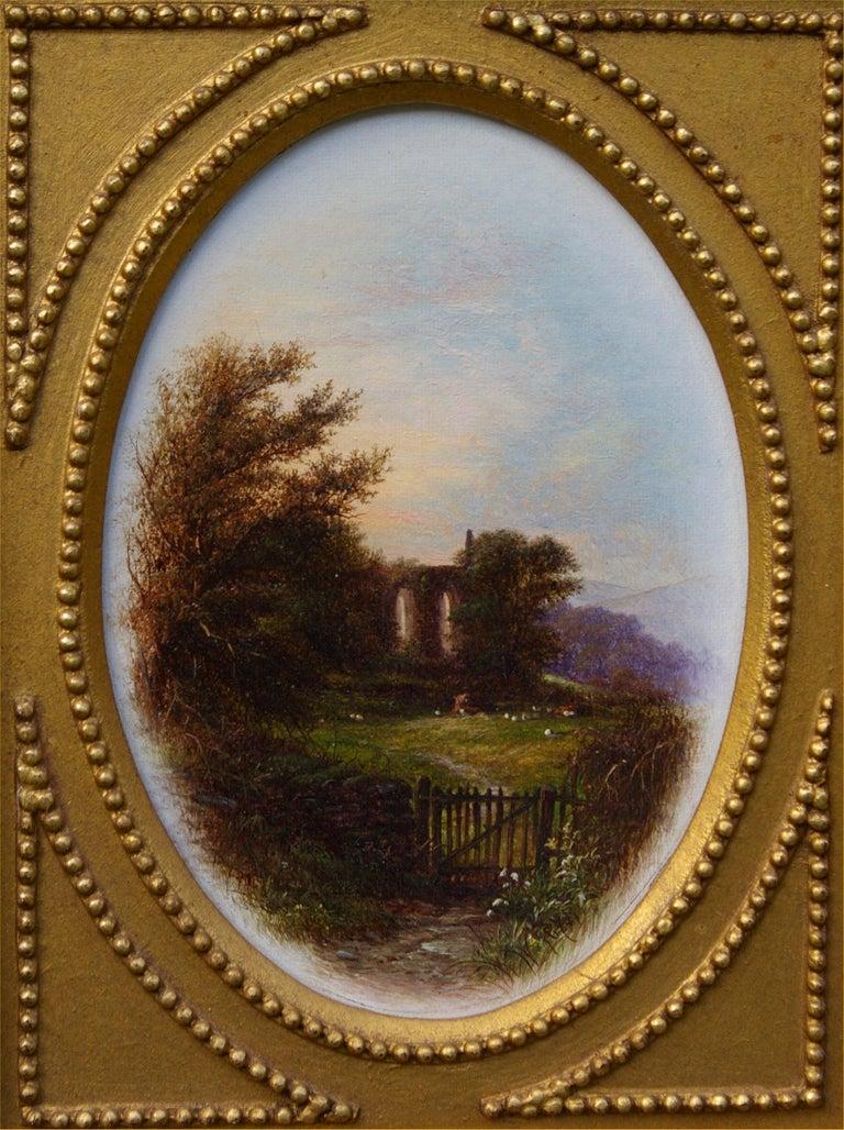 Walter Williams Landscape Painting - Serene Views (Pair)