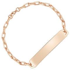 Walters Faith 18 Karat Rose Gold ID Bar Bracelet