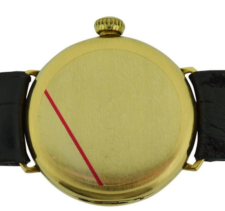 Waltham 14 Karat Yellow Gold Art Deco Wrist, circa 1918 For Sale 2