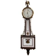 Waltham 8 Day Banjo Clock for Shreve Crump and Low, Simon Willard Patent