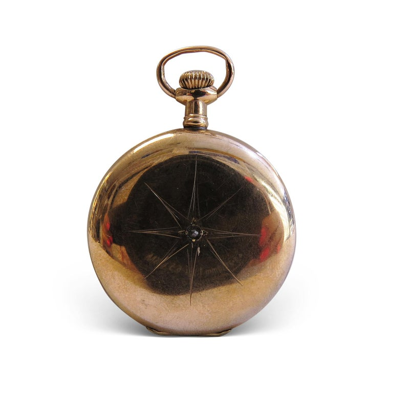 Waltham Vintage Pocket Watch In Good Condition For Sale In Jackson Heights, NY