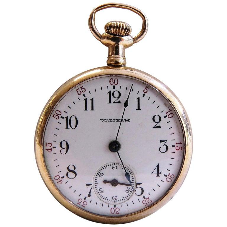 Waltham Vintage Pocket Watch For Sale