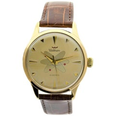 Waltham Yellow Gold Filled Midcentury Experimental Electromechanical Watch