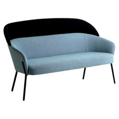 Wam Blue Sofa, Designed by Marco Zito, Made in Italy