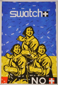 Swatch No - Contemporary, 21st Century, Lithograph, Limited Edition, Chinese