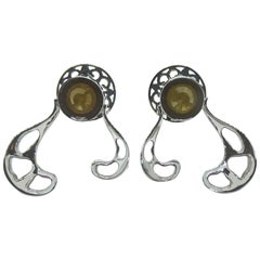 Want Facelift? Amaze Yourself with Contemporary Yellow Diamond Gold Earrings