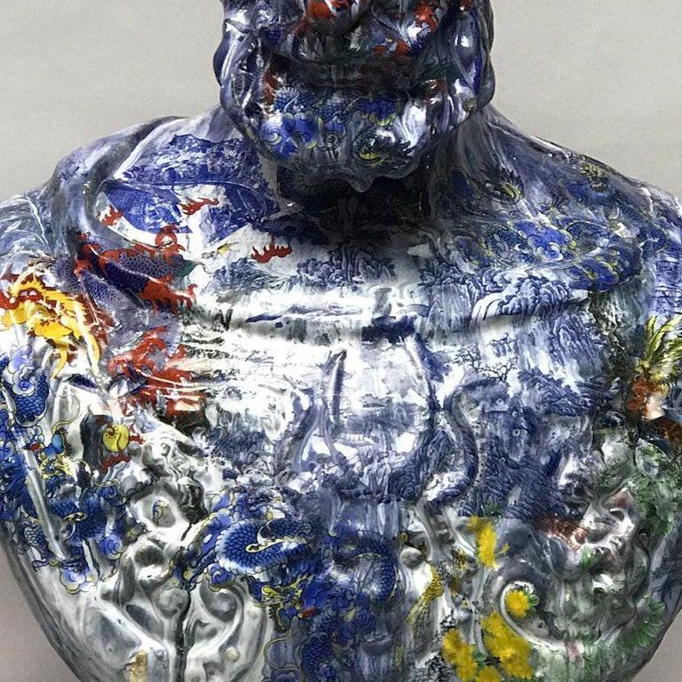 Ambassador - Contemporary Sculpture by Wanxin Zhang