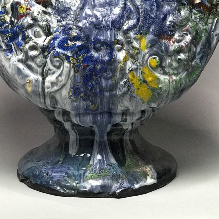 Ambassador - Gray Figurative Sculpture by Wanxin Zhang