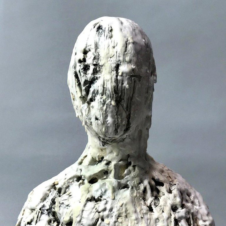 Snow Day - Sculpture by Wanxin Zhang
