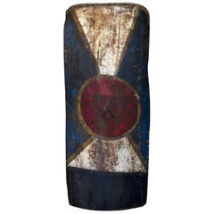 Early 20th Century Shield, Waghi Valley, Western Highlands, Papua New Guinea