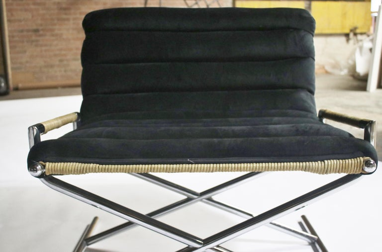 Ward Bennett Brickell Sled Chairs For Sale 2