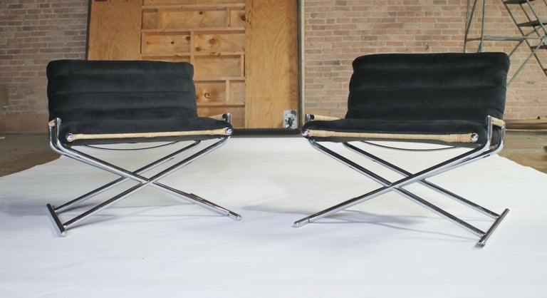 Ward Bennett Brickell Sled Chairs For Sale 3
