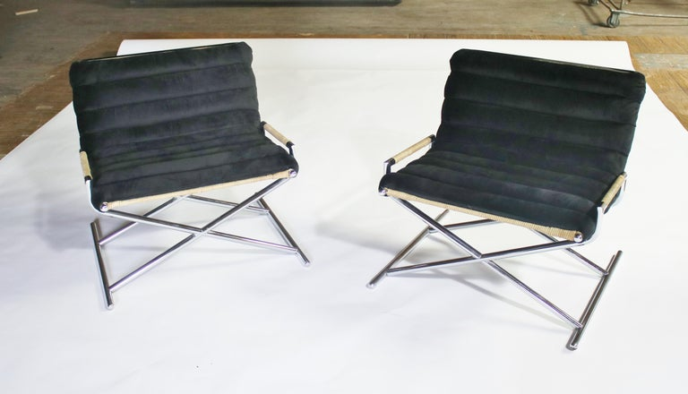 Ward Bennett Brickell Sled Chairs For Sale 4