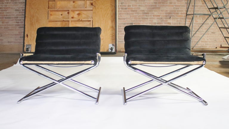 Ward Bennett Brickell Sled Chairs For Sale 5
