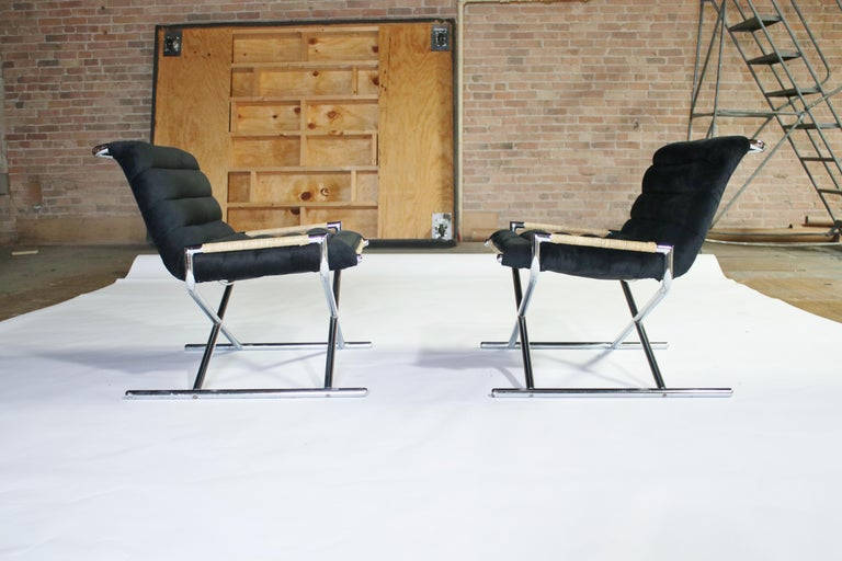Ward Bennett Brickell Sled Chairs For Sale 6