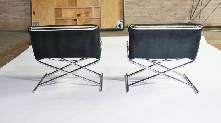 Ward Bennett Brickell Sled Chairs For Sale 9
