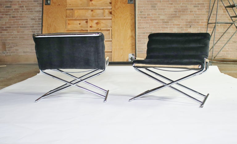 Ward Bennett Brickell Sled Chairs For Sale 10