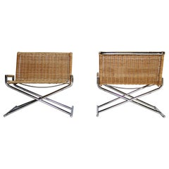 Ward Bennett Brickell Sled Chairs