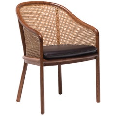 Ward Bennett Cane Landmark Lounge Chair