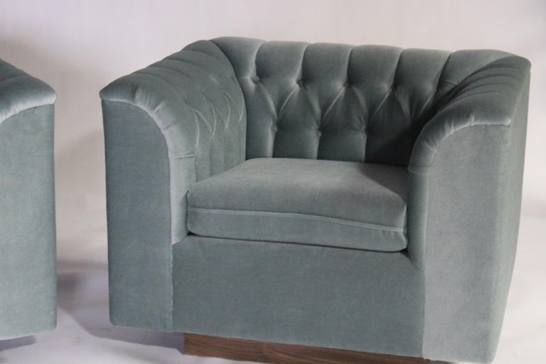 Ward Bennett Cube Club Chairs For Sale 2