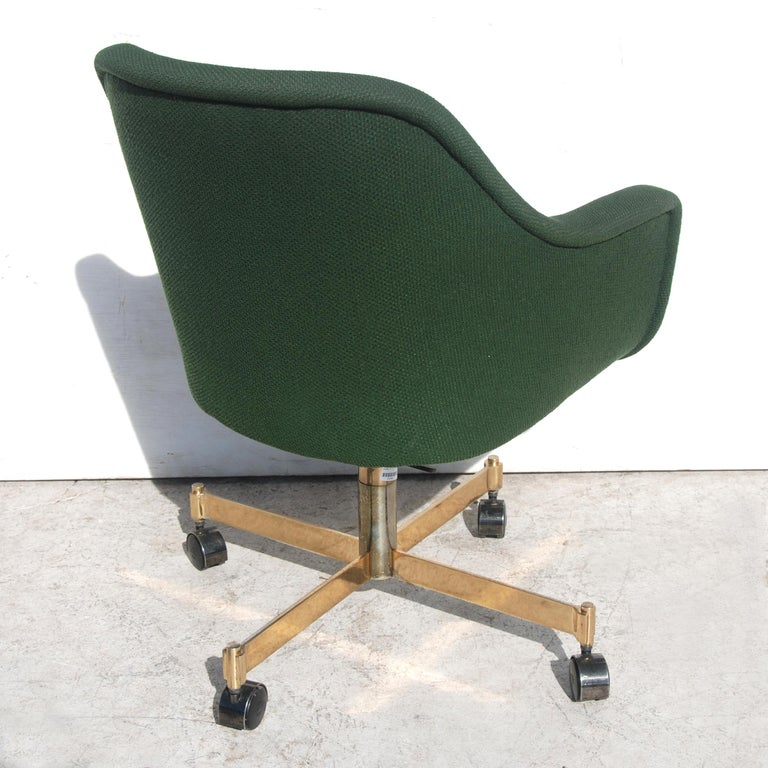 Bumper desk chair by Ward Bennett for Brickel and Associates