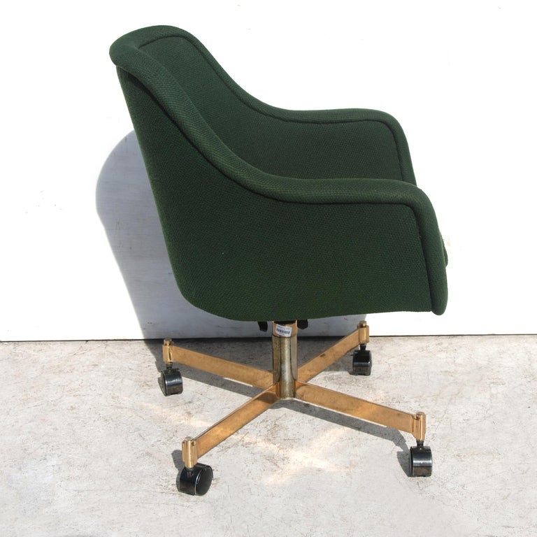 Mid-Century Modern Ward Bennett for Brickel and Associates Desk Conference Chair For Sale
