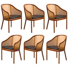 Ward Bennett Landmark Armchairs by Brickel