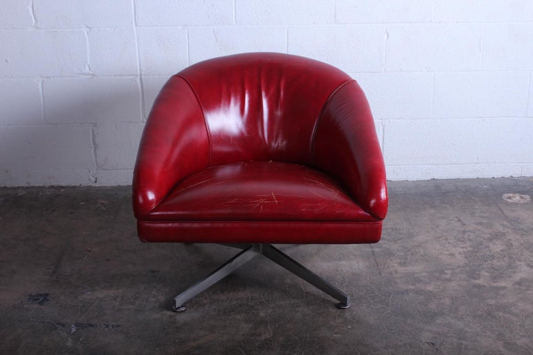 Mid-20th Century Ward Bennett Lounge Chair for Lehigh Leopold For Sale