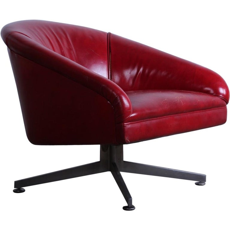 Ward Bennett Lounge Chair for Lehigh Leopold For Sale