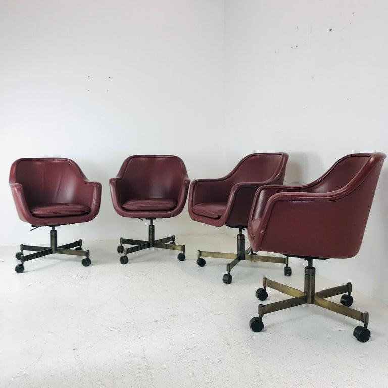 Mid-Century Modern Ward Bennett Office Chairs For Sale
