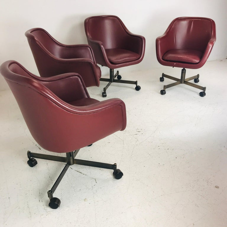 Ward Bennett Office Chairs In Good Condition For Sale In Dallas, TX