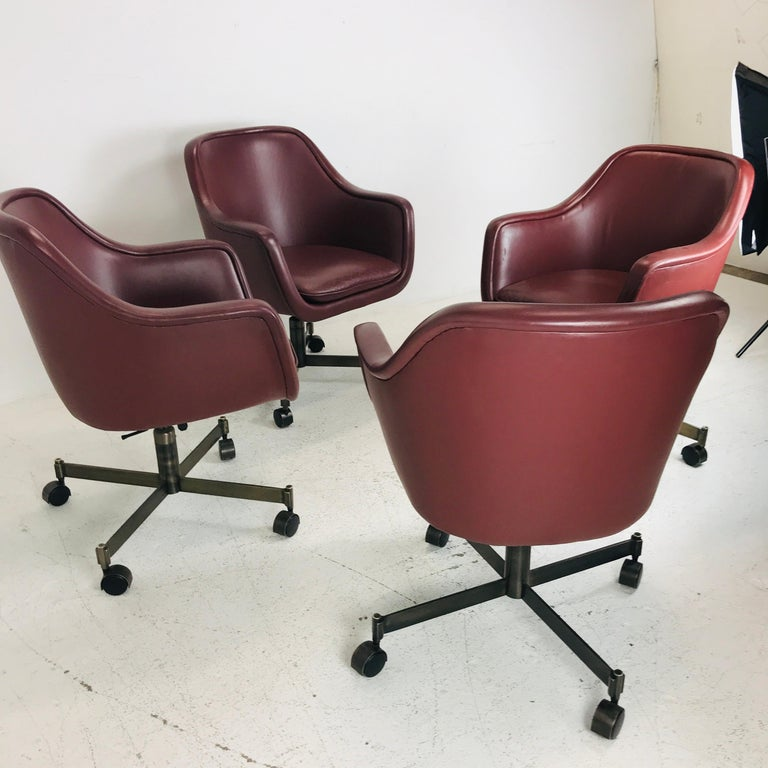 Late 20th Century Ward Bennett Office Chairs For Sale