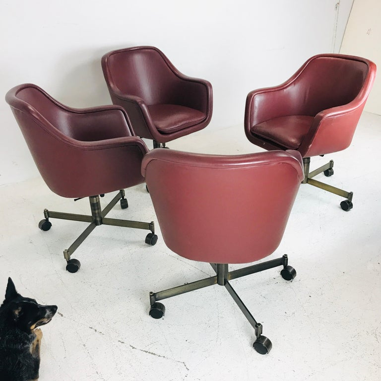 Metal Ward Bennett Office Chairs For Sale