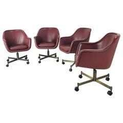 Ward Bennett Office Chairs