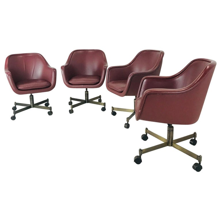 Ward Bennett Office Chairs For Sale